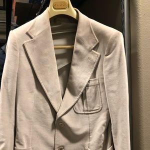 Gucci corduroy blazer in beige